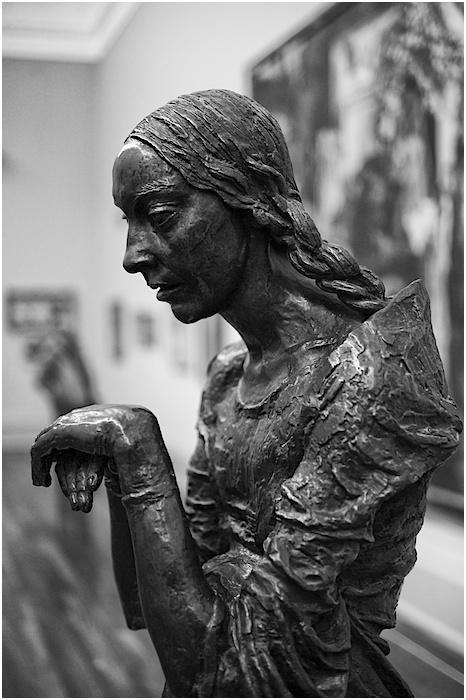 The visitation, Jacob Epstein, 1926