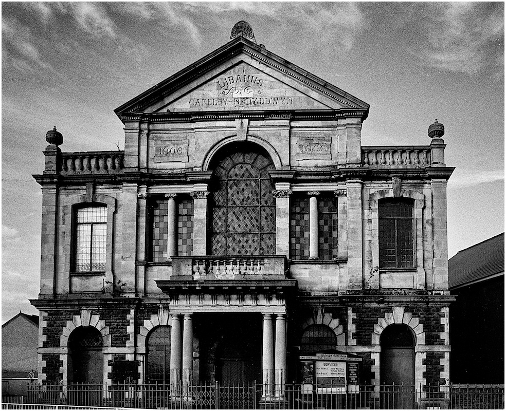 Decline of the Libanus Chapel, Cwmbrwla, Swansea (8images)
